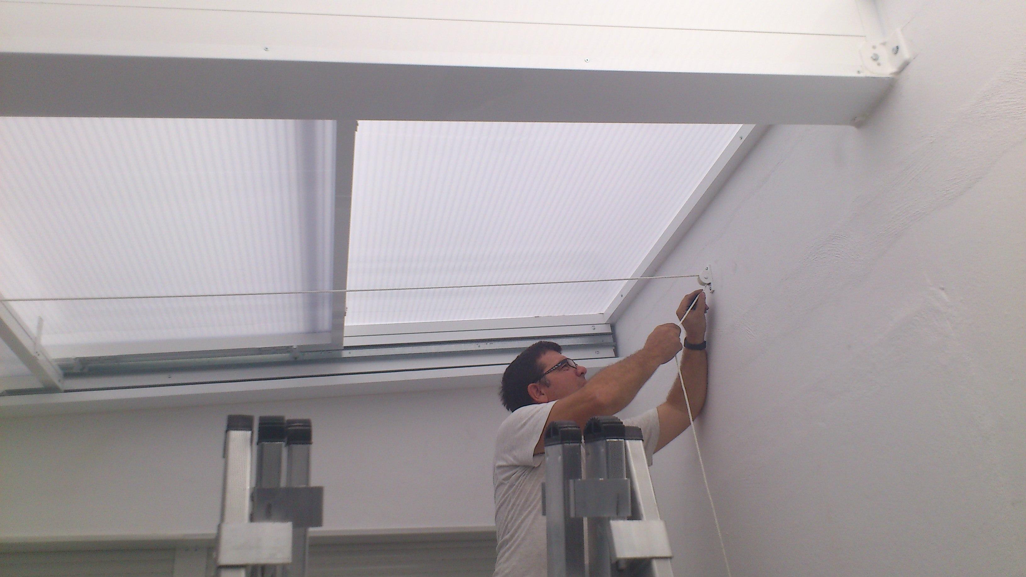 Fabricacion de techos moviles de corredera de cristal o - Moviles de techo ...